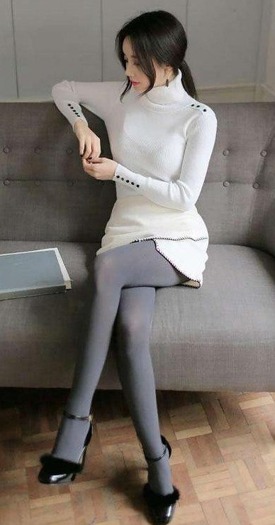 matte fabric pantyhose