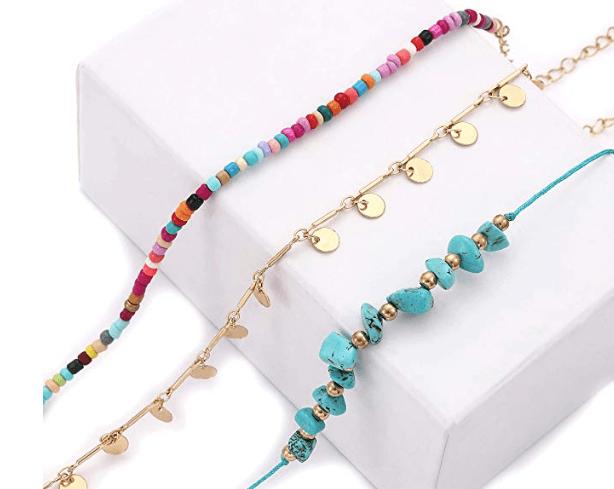 Ankle Bracelets Set