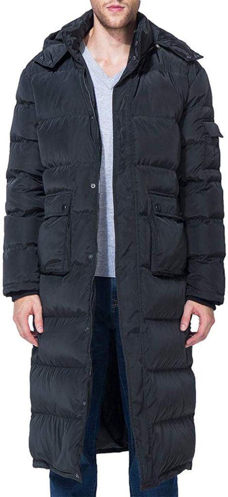 Tapasimme Down Coat - men wear pantyhose inside jeans & Down Coat