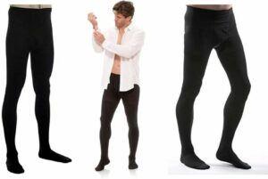 Compression pantyhose for men & men's compression pantyhose